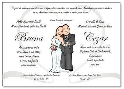 Convite Com Desenhos De Boneco No Centro Modelos De Convite