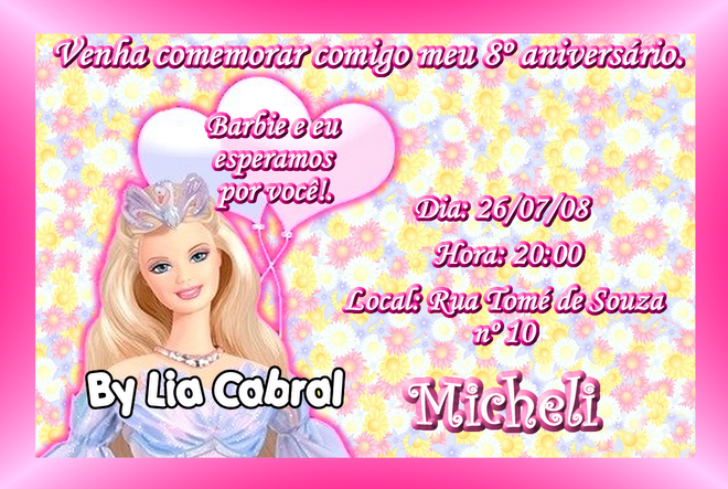Convite   Varias Fotos Convite   Foto Na Esquerda
