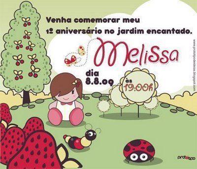 Convite de Aniversário de 1 Ano 301