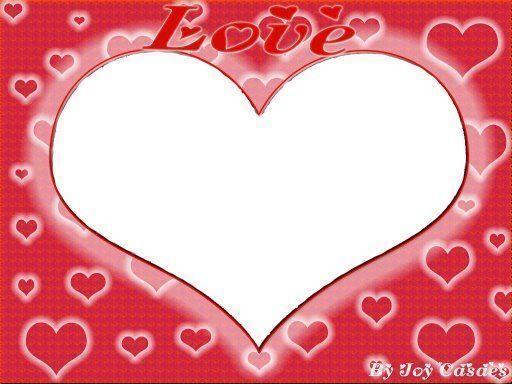 Convite Coração Romantico
