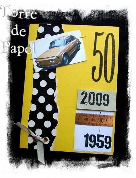 Convite de Aniversario 50 Anos Feminino Convite-de-50-anos