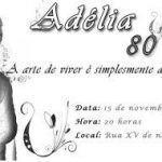 Convite De Aniversário 80 Anos Modelos De Convite