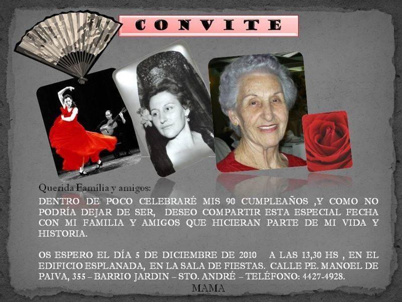 Aniversario de 90 Anos Feminino Convite-de-aniversario-90-anos