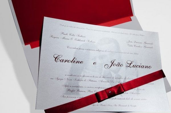 Convites de Casamento com Foto