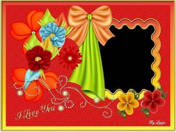 Convite com Flores