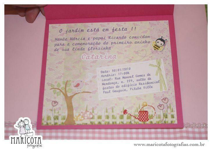 ideias para tema jardim:convite-infantil-tema-jardim-8 – Modelos de Convite