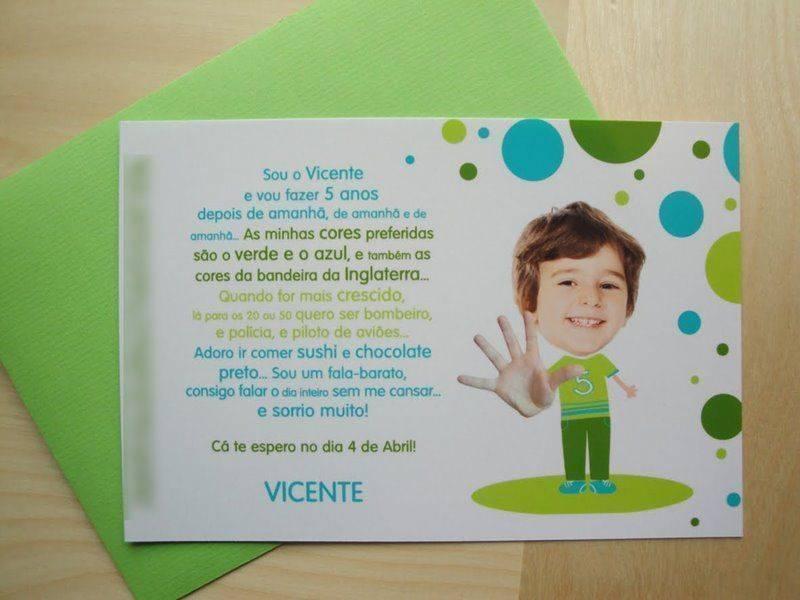 Convites Aniversario De 6 Anos: Convite-de-aniversario-de-6-anos-9