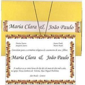 Convites de Casamento 11
