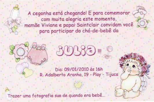 Convite De Cha De Bebe 16 Convite De Cha De Bebe 18