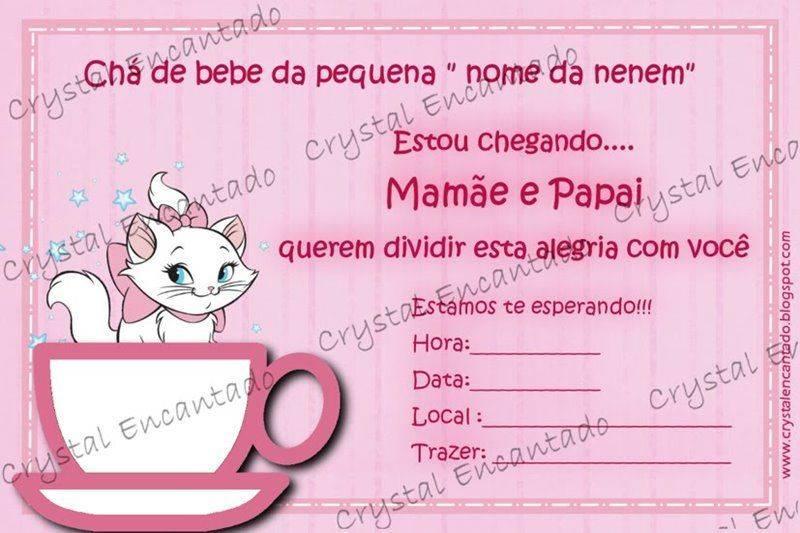 Convites De Ch Beb
