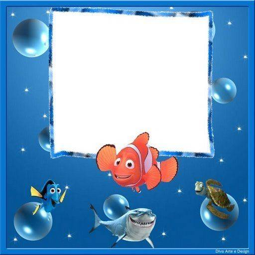 Convite do Procurando Nemo