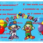 Convite De Aniversário Do Patati Patata Modelos De Convite