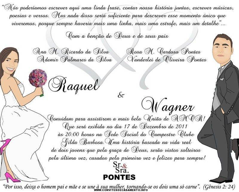 Convite Casamento Evangelico 3 Modelos De Convite