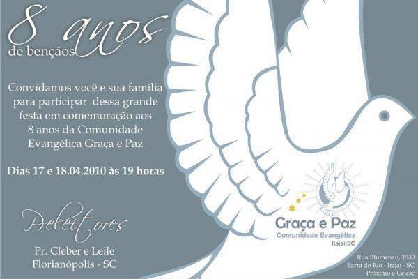 Convites para Eventos Evangelicos – Igrejas