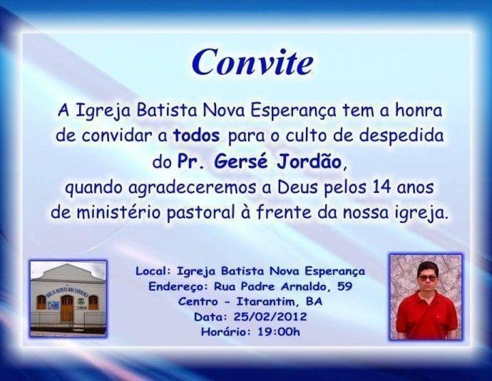 convite-evangelico-3 - Modelos de Convite