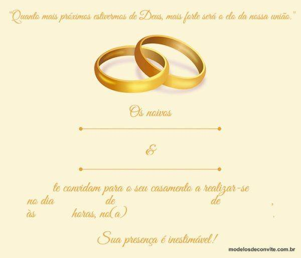 Convite de Casamento Evangélico: Como Fazer o Modelo Ideal!