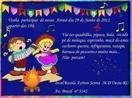 Convite de Festa Junina