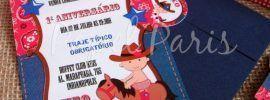 convite festa country 8