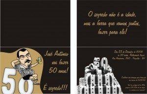 convite aniversario 50 anos 4