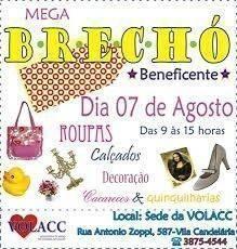Convites para Brechó