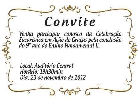 Convite missa ação de graças 5