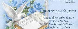 Convite missa ação graças 3