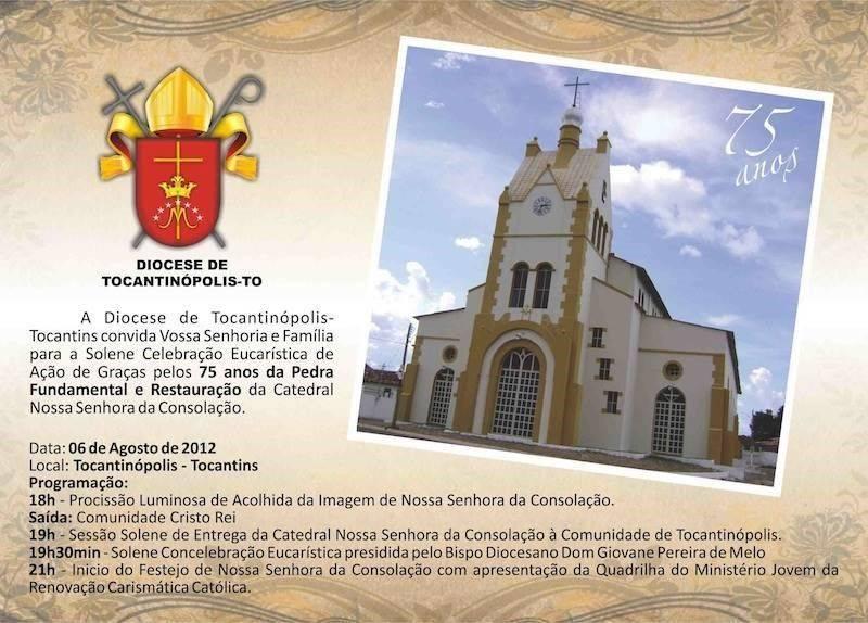 Convite missa ação graças 8