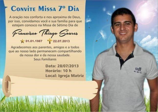 Convite missa falecimento 9