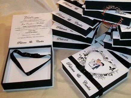 Convite padrinhos casamento 1