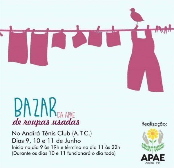 Convite para bazar