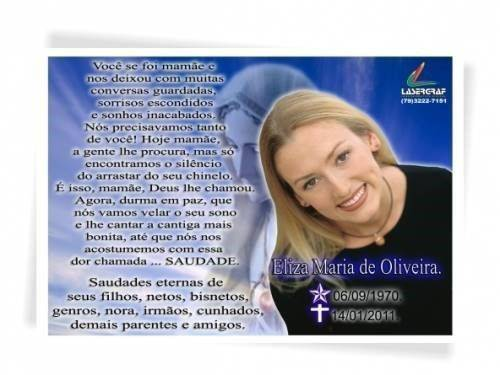Convite De Missa De 1 Ano De Falecimento Modelos De Convite
