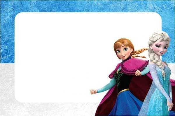 Convite de aniversário Frozen 301