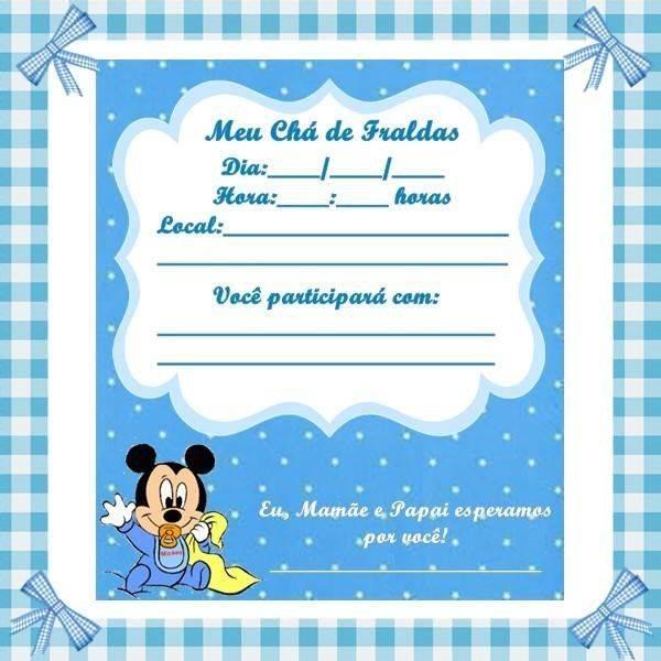 Tag Editar Convite Cha De Bebe Online Gratis