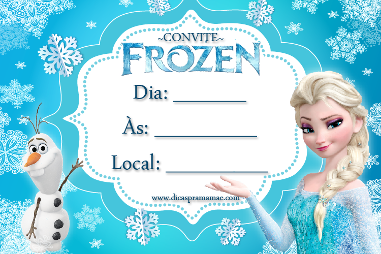 Printable Frozen Birthday Invitations was great invitations ideas