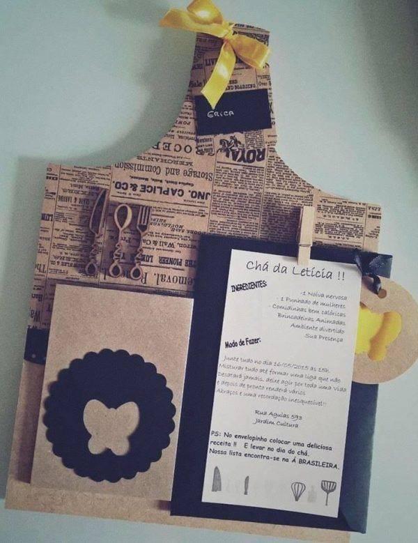 25 Convites de chá de panela criativos!