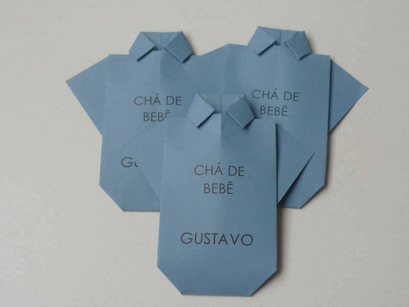 Convite De Cha De Bebe Body 16 Modelos De Convite