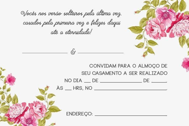 Convite de casamento para padrinhos online dating 10