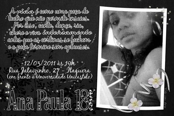 25 Convites De Aniversário 18 Anos Modelos De Convite