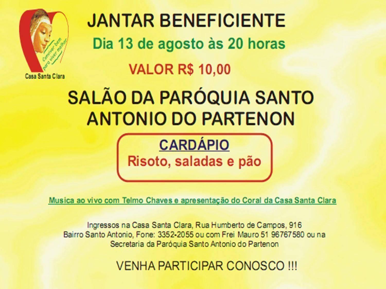 40 convites para jantar beneficente  u2013 modelos de convite