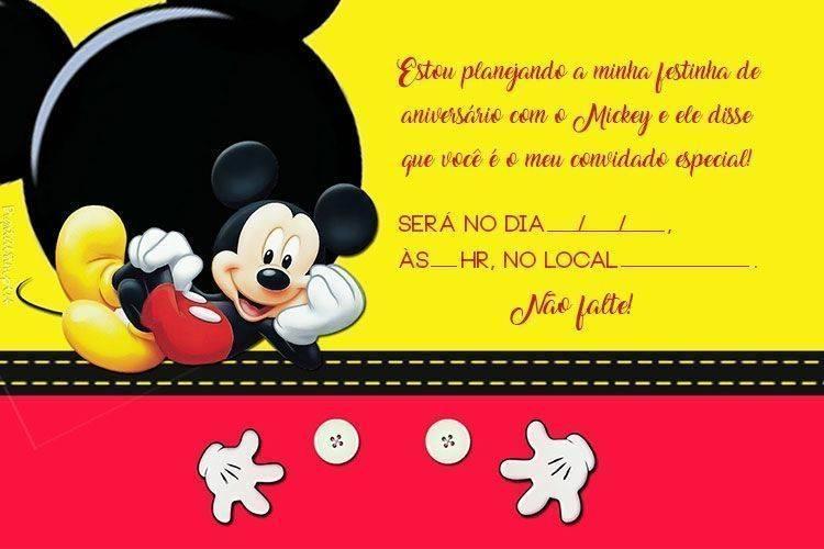 Convite De Aniversário Para Imprimir 20 Modelos Modelos De Convite