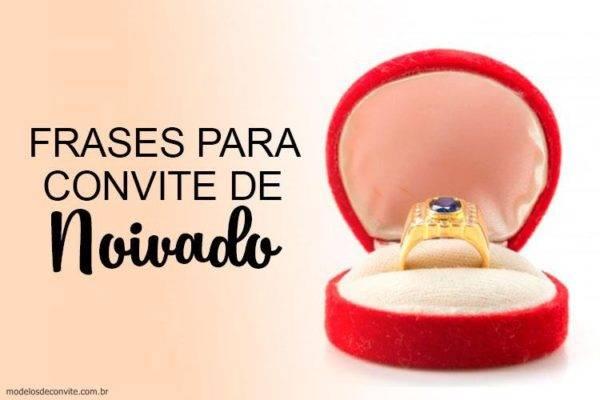 26 Convites Especiais Para Noivado Modelos De Convite