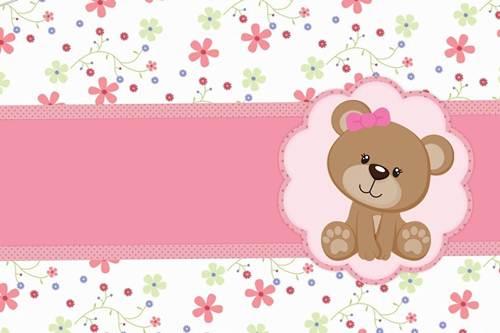 Fundo Floral Rosa Para Convite