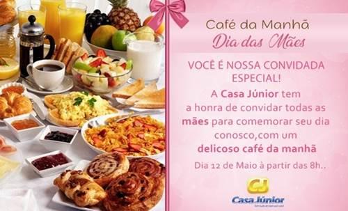 Convites Para Café Da Manhã Para Eventos E Aniversários